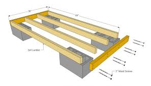 Pier And Beam Foundation Spacing How To Build Floor For House House Floor Joists Construction