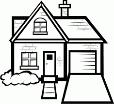 kids under 7 houses and homes coloring pages intended for coloring