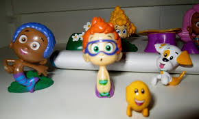 new bubble guppies cake toppers pvc figures lot birthday party