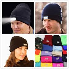 knit hat with led lights discount hats led lights wholesale 2018 hats led lights wholesale