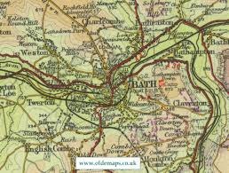 map uk bath bath map