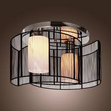 ceiling living room lights alfred black semi flush mount with 2 lights mini style