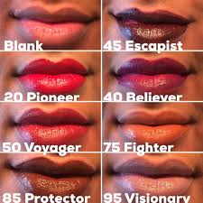 Maybelline Superstay Matte Ink swatches of maybelline superstay matte ink lipsticks on fenty 410