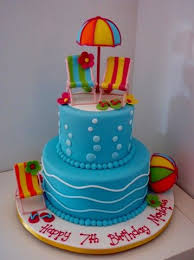 33 best cakes pool party images on pinterest pool party cakes