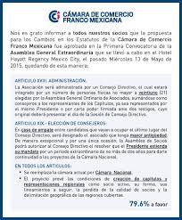 statut chambre de commerce statuts et charte éthique de la ccfm càmara de comercio franco
