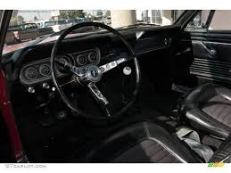 Black 1966 Mustang Black Interior 1966 Ford Mustang Fastback Photo 38111347