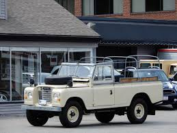 land rover series 3 1976 land rover series iii 109 v6 convertible copley motorcars