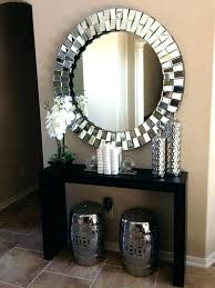 console table and mirror set console table mirror topic related to likable foyer decor with