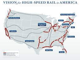 new england central railroad map high speed rail fast track to nowhere newgeography com
