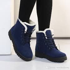 womens boots for flat winter boots fashion boots botas mujer fur boots