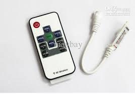 mini rf wireless remote controller rgb led for led