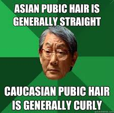 long and straight female pubic hair asian pubic hair is generally straight caucasian pubic hair is