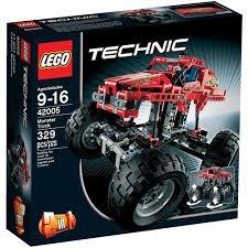 lego technic monster truck building walmart