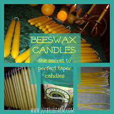 how to make candles last longer the secret to perfect tapers making bees wax candles part 2