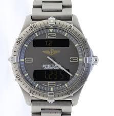breitling titanium bracelet images Breitling aerospace quartz in titanium on bracelet ref e56062 jpg