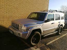 jeep commander silver jeep commander 3 0 crd v6 limited 4x4 luxury family off road