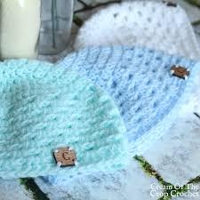 newborn pattern video make this granny stitch newborn hat crochet pattern with ashley