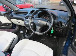 used peugeot 206 cc convertible 1 6 16v allure 2dr in loughborough