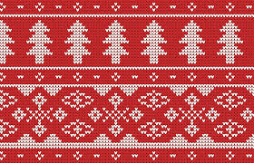 christmas patterns 4 free seamless knitted christmas jumper patterns