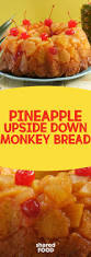 taking pineapple upside down cake into this century with monkey