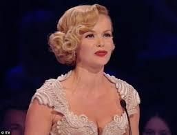 britain s got talent final 2012 amanda holden s curly bob and