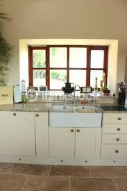 country kitchen cream shaker cabinet doors double belfast sink