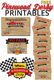 Participation Certificate Templates Free Download Pinewood Derby Printables The Mormon Home