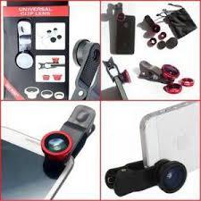 Lensa Cembung Selfie jual lensa cembung 3 in 1 fisheye macro wide 0 2x fatih acc