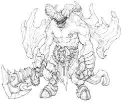 monster sketch video games artwork