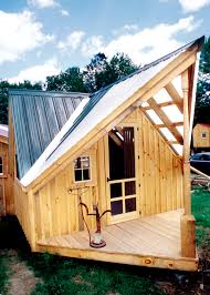 Small House Cabin Relaxshacks Com The Writer U0027s Haven Tiny Guest House Cabin Photo