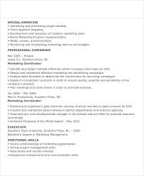 Marketing Executive Resume Sample by Marketing Resume How To Write A Marketing Resume Hiring Managers