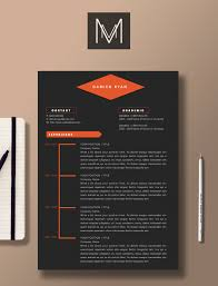 Interior Design Resume Templates Professional Resume Template 2 Page Resume 1 Page Cover