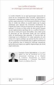 chambre d arbitrage de les conflits d intérêts en arbitrage commercial international