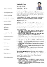 It Technician Resume Examples by 100 Network Technician Resume Examples Maintenance Manager