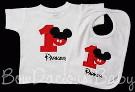 mickey mouse 1st birthday shirt mickey mouse birthday shirts and onesies
