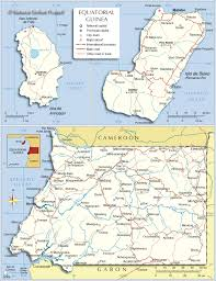 Un Map Political Map Of Equatorial Guinea Nations Online Project