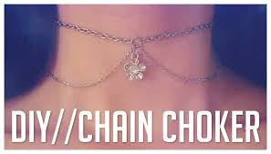 choker necklace diy images Easy diy chain choker necklace do it yourself jpg