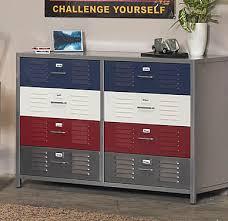 cheap kids lockers kids locker dresser boys 8 drawer free shipping today overstock