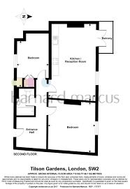 2 Bedroom Flat For Sale In Tilson Gardens London Sw2