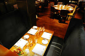 luxury and high end restaurant interior design of compass