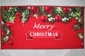 tappeti natalizi tappeto guida corsia zerbino natalizio natale