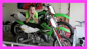 motocross bike trailer picking up a dirt bike trailer day 1476 youtube