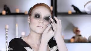 halloween porcelain doll makeup cracked porcelain doll makeup tutorial youtube