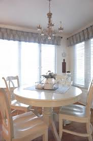 Creating Dining Room Window Treatments Window Treatments In The Dining Nook