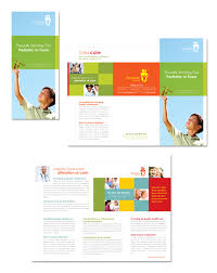 daycare brochure template professional services archives page 2 of 10 dlayouts graphic