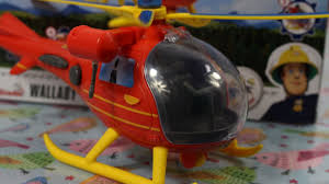 fireman sam simba helicopter wallaby 188169 md toys