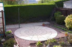 Garden Slabs Ideas Garden Circle Paving Slabs Designs Ideas And Decors Exclusive