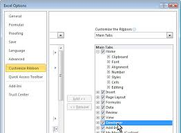 developer tab in excel 2010 projectwoman com