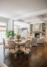 dining table in front of fireplace furniture extraordinary dining rooms with round tables 86 for your