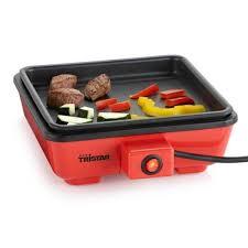 cuisine à la plancha électrique mini plancha electrique 2 personnes cing trista achat vente